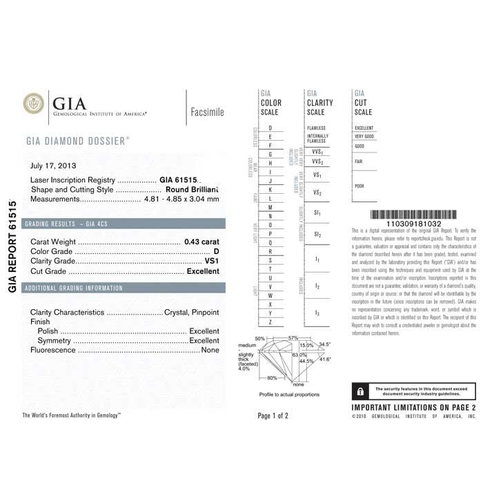 Diamante certificato