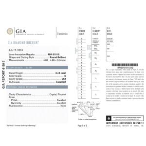 Diamanti certificati GIA