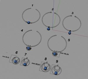 Esempi di diverse soluzioni di progetto.