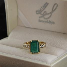 Anelli con Smeraldo