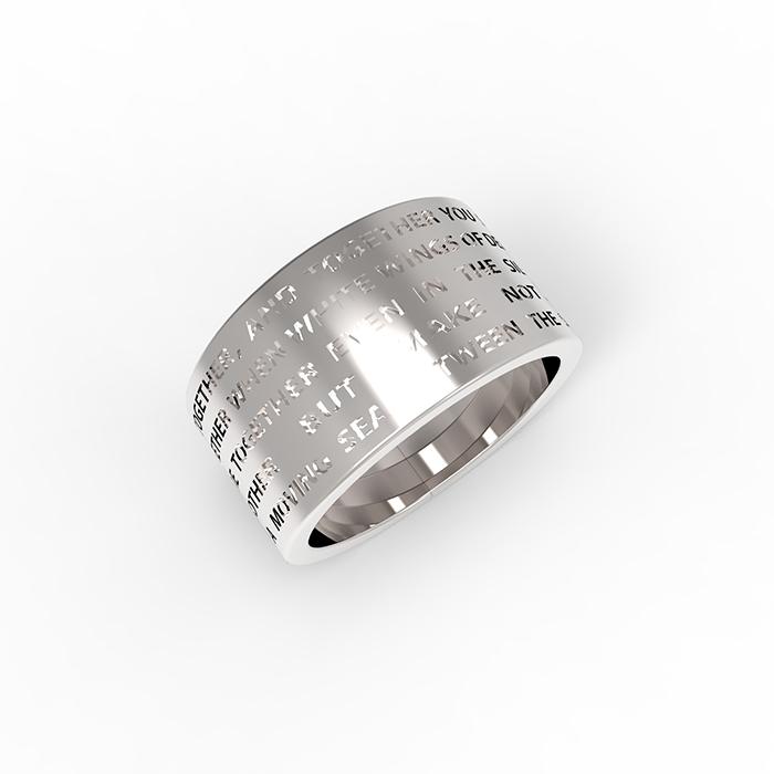 anello da uomo