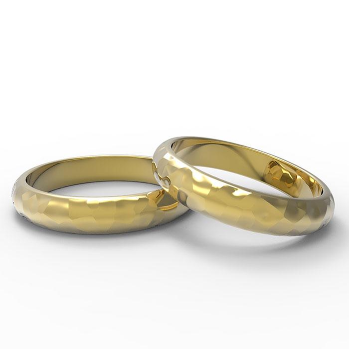 anello in oro di diverse colorazioni e personalizzabile