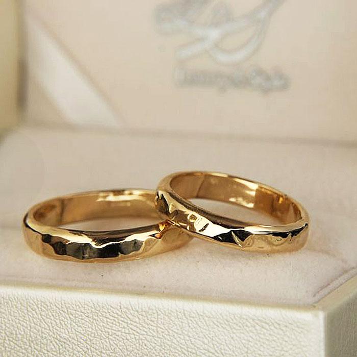 Fedi personalizzate in oro Premium Hammer Ring