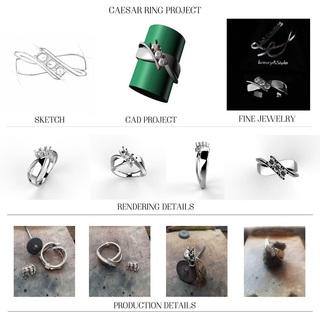dal disegno alla realizzazione dei gioielli