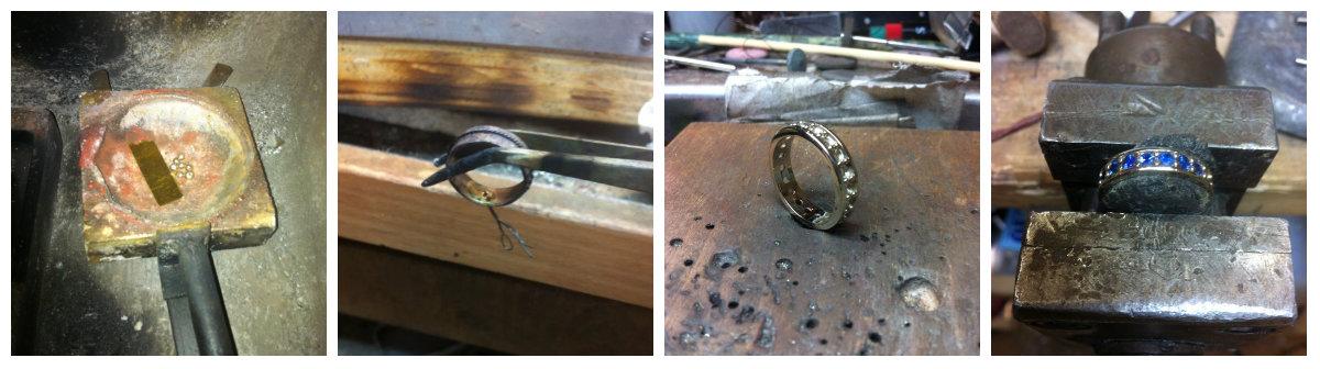 realizzazione artigianale gioielli goldsmith
