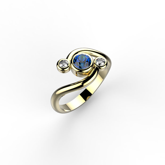anello trilogy cyclone ring