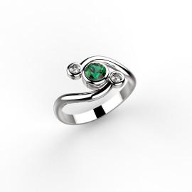 anello in platino o oro personalizzabile
