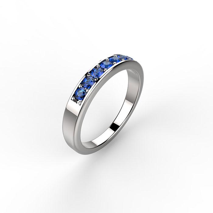 anello in platino o in oro con diamanti a Roma
