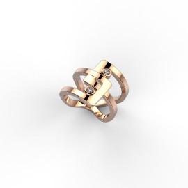 anello in oro e diamanti a Roma o sullo store online