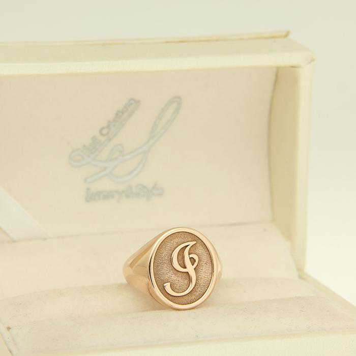 anello chevalier personalizzato Roma