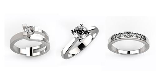 anelli con diamanti roma