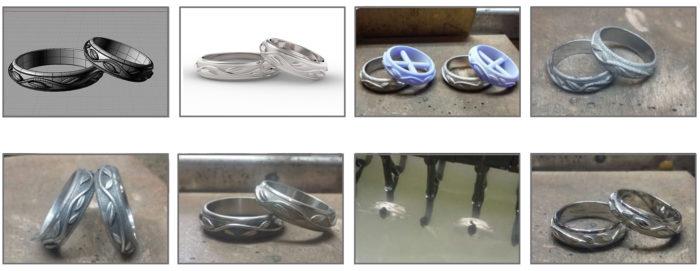 CAD jewels goldsmith Life Ring