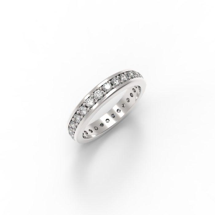 anello paradise bianco
