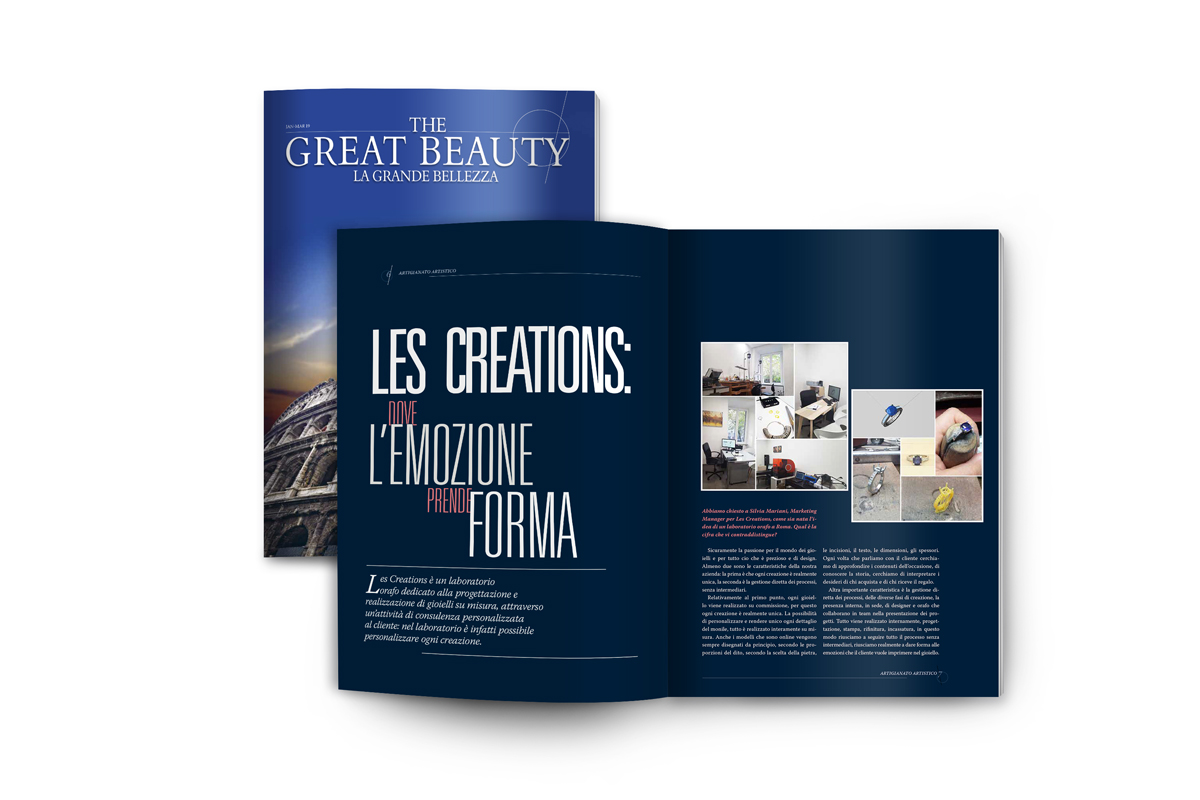 THE GREAT BEAUTY INTERVISTA LES CREATIONS
