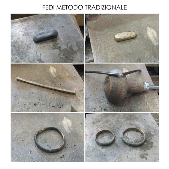 Creare le proprie fedi nuziali metodo tradizionale